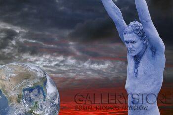 Szczepan Kurzeja-Niebieski Bóg-Fotografia