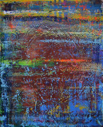 Szymon Hołubowski-Abstrakcja 9-Akryl
