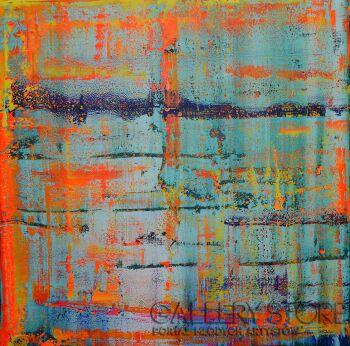 Szymon Hołubowski-Abstrakcja I-Akryl