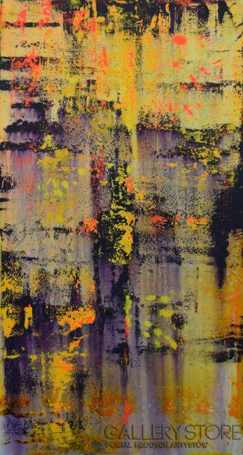 Szymon Hołubowski-Abstrakcja II-Akryl