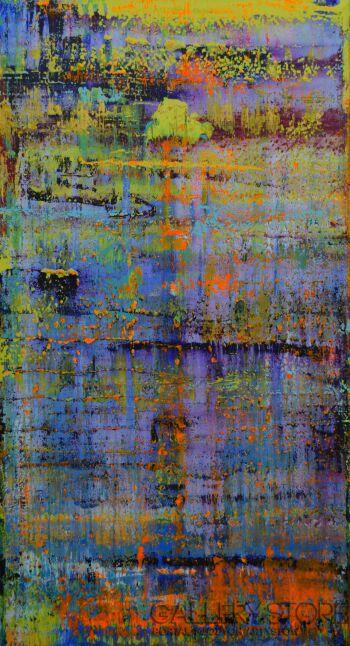 Szymon Hołubowski-Abstrakcja III-Akryl