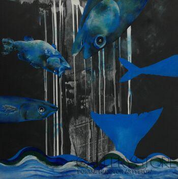 Vanessa Świgulska-Rybie dywagacje-Akryl