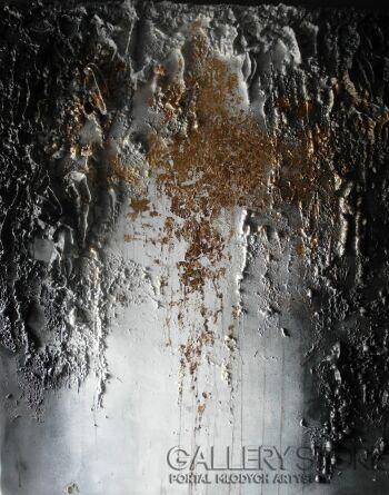 Vanessa Świgulska-Złote łzy El Teide-Technika mieszana