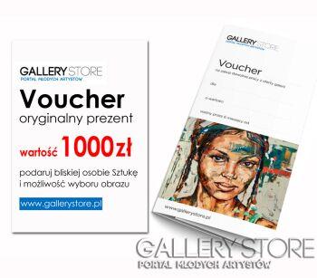 Voucher Gallerystore-Voucher Gallerystore - wartość 1000 zł -Olej