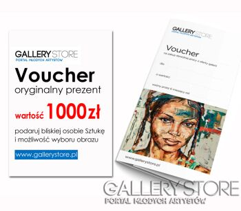 Voucher Gallerystore - wartość 1000 zł