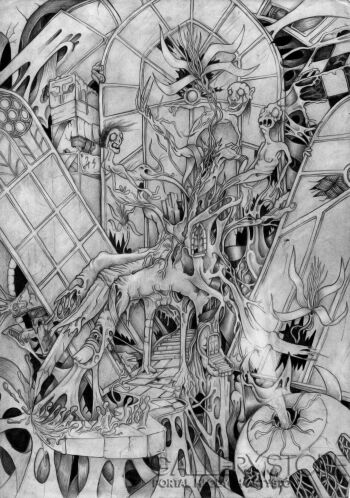 wiktor tabak-Okienne sny-Rysunek
