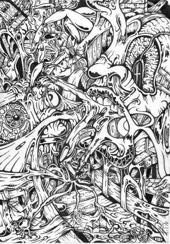 Wiktor Tabak-Zabawa długopisem2-Rysunek
