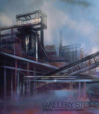 Wiktoria Balawender-Industrialne przestrzenie-Olej