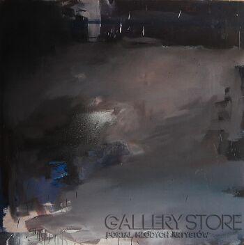 Wiktoria Balawender-stawanie się obrazu-Olej