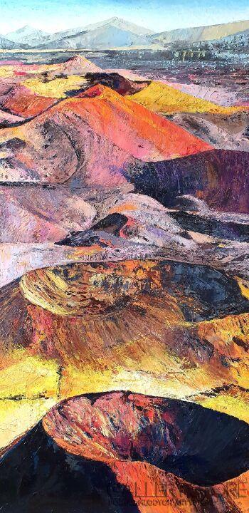 Zuzanna Kabulska-Góry III (Wulkany)-Olej