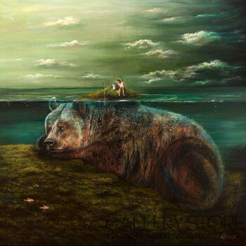 Agata Buczek-Wyspa spokoju-Olej