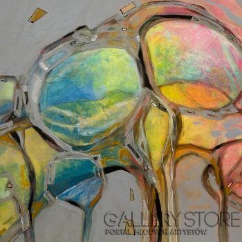 Agata Padol-Satynowe lustra III-Akryl