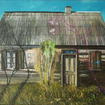 Agnieszka Mrowca-Na zewnątrz-Akryl