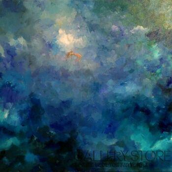 Agnieszka Sukiennik-IN THE DEEP BLUE-Olej