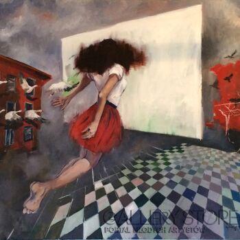 Agnieszka Sukiennik-la carte blanche-Olej