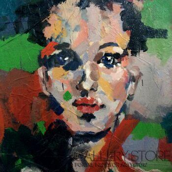 Agnieszka Sukiennik-portret II-Akryl