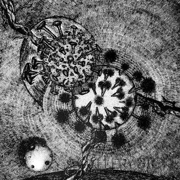 Amadeusz Popek-CoronaVirus-Grafika