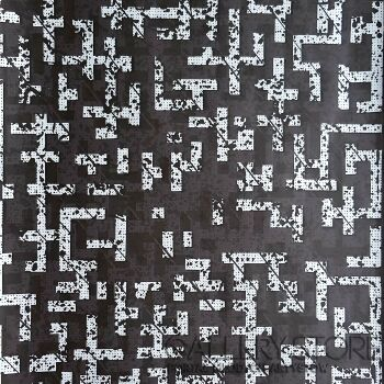Amadeusz Popek-Labyrinth-blizzard-black-Grafika
