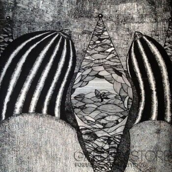 Amadeusz Popek-Między Cycami-Rysunek