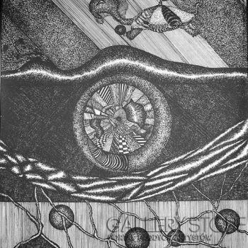 Amadeusz Popek-Żółw- Rysunek