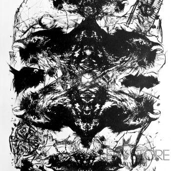 Andrzej Zujewicz-Ptaki litografia 2-Grafika