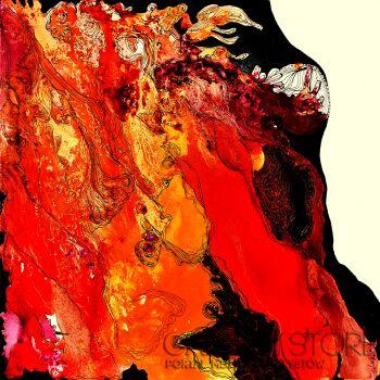 Aneta Barglik-'Ognista Emocja'-Olej