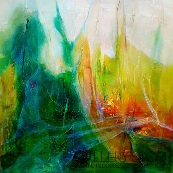 Aneta Barglik-'Podążam własną ścieżką'-Olej