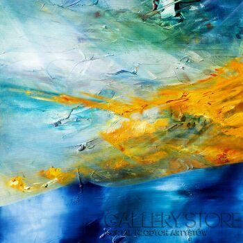 Aneta Barglik-'Ukryte Ścieżki'-Olej