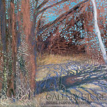 Angelika Mus-Nowak-Cieniem wędrujące drzewo-Rysunek
