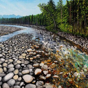 Angelika Mus-Nowak-Czasem płynie rzeka-Olej