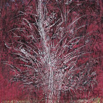 Angelika Mus-Nowak-Kwiaty pod powiekami- Rysunek