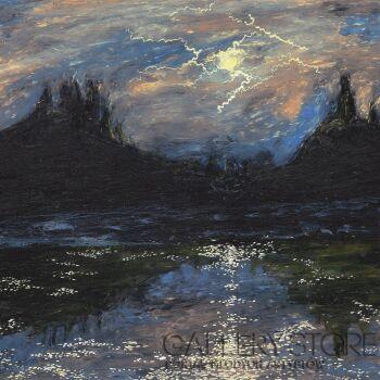 Angelika Mus-Nowak-Między burzami-Rysunek