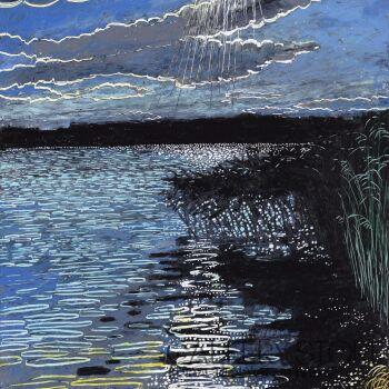 Angelika Mus-Nowak-Ścieżki słońca- Rysunek