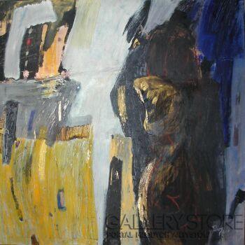 Angelika Telenga Kowalska-Kompozycja 18-Technika mieszana