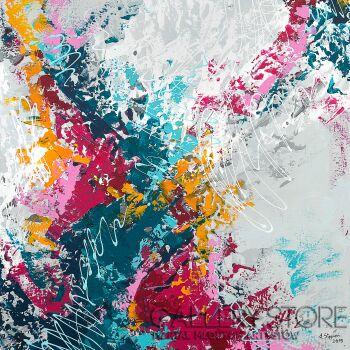Ania Stępień-Polowanie na kolory-Akryl