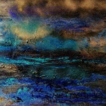 """Anna Gaworska-""""In the stormy night""""-Akryl"""