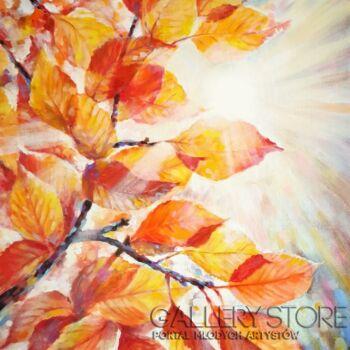 """Anna Pawlak-""""Barwy jesieni""""-Akryl"""
