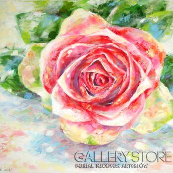 "Anna Pawlak-""Róża""-Akryl"