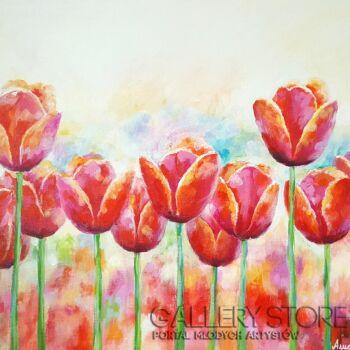 "Anna Pawlak-""Tulipany""-Akryl"