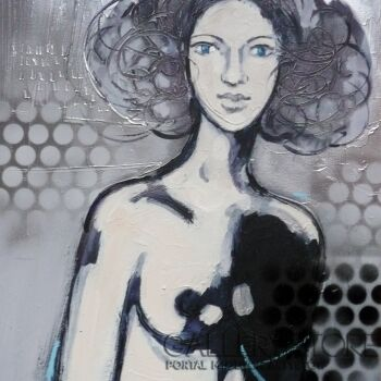 Barbara Zabłocka-kropki-Akryl