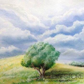 Bartłomiej Sita-Drzewo na łące-Rysunek