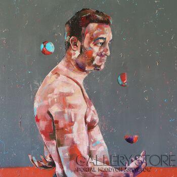BASTIEN  DUCOURTIOUX-Le jongleur-Olej