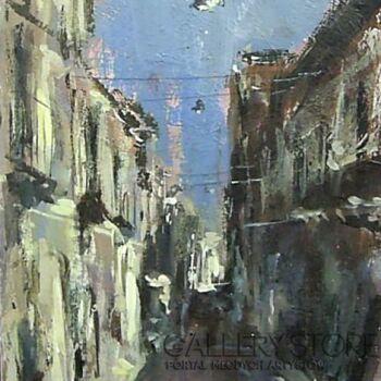 Dariusz Grajek-Włoska uliczka.....-Akryl