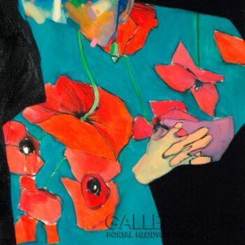Dominik Jasiński-Poppies (Autoportret)-Olej