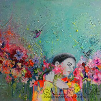 Eliza Kleczewska-Zapach kolibrów-Akryl