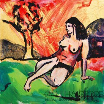 Emilia Gąsienica-Setlak-Egipskie noce-Akryl