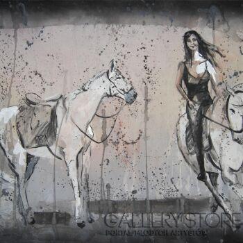 Emilia Gąsienica-Setlak-Naranjito-Akryl