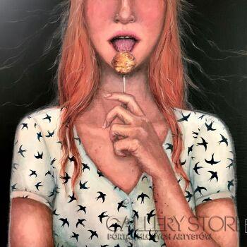 Ewa Grzegorczyk-Wenus lollipop-Akryl