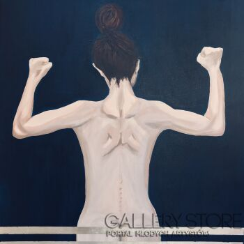 Ewa Jaros-Watch my Back 3-Akryl
