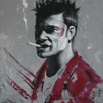 Ewa Jasek-Fight club (Brad Pitt)-Akryl